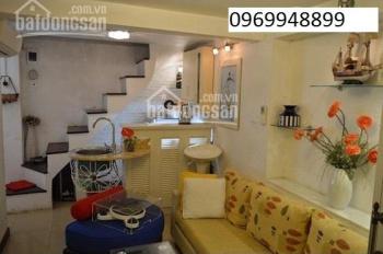 Cho thuê nhà riêng phố Trần Hưng Đạo 15m2, 2 tầng nhà đủ đồ ô tô đỗ cách nhà 5m, giá 7 tr/th
