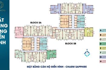 Còn 1 căn UT1 48m2 block ra tầng đẹp, dự án Charm City Bình Dương. Liên hệ: 0903.337.584 Mr Hòa