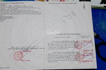 Bán đất thổ cư Phú Mỹ, Bà Rịa Vũng Tàu (5m x 25m) 2 MT đường trước sau 6m, gần KCN, 1.150 tỷ