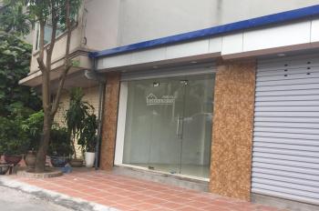 Cho thuê cửa hàng mặt phố Âu Cơ - Tây Hồ - Hà Nội