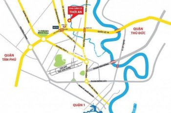 Cơ hội sở hữu 29 nền đất KDC Hà Đô Thới An, Q12. Giá gốc chỉ từ 14tr/m2, bao sổ hồng, LH 0931412777