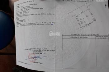 Bán đất Yên Nghĩa (50m2*30tr/1m2*) ô tô đỗ gần, ngay sát KĐT Đô Nghĩa. LH 0333762850