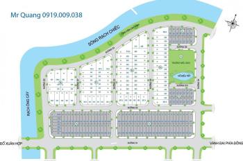 Đất nền dự án trí kiệt, lô biệt thự 8*26m, Đông Nam, giá 32 tr/m2, LH 0919.009.038 Mr. Quang