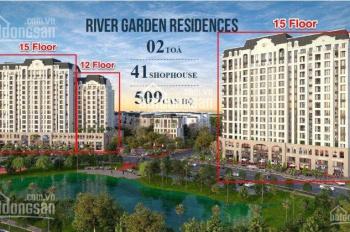 CH Swan Bay, River Garden Residences chỉ 1,3 tỷ/1PN 2 năm thanh toán 50% giá gốc CĐT, 0933360125
