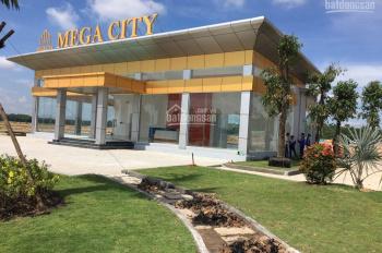Đất nền, sổ đỏ Mega City 1 giá rẻ nhất dự án gốc chỉ 550tr/100m2 đối diện trường học cấp 1
