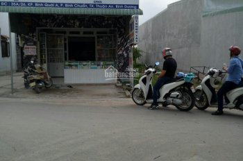 Đất mặt tiền KD chỉ hơn 2 tỷ gần KCN ngã tư Bình Chuẩn, Thuận An, Bình Dương. 0978778361