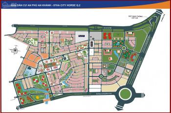 Bán nền 8x16m đường Số 34, hướng Đông Bắc, khu đô thị An Phú An Khánh, giá 125tr/m2