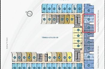 Đổi sang căn 3PN nên cần nhượng lại suất nội bộ 2PN + 72 m2 dự án The Sóng