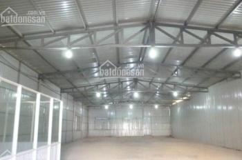 Cho thuê kho xưởng 1000m2 đường Quốc Lộ 1A, P. Tân Tạo, Quận Bình Tân