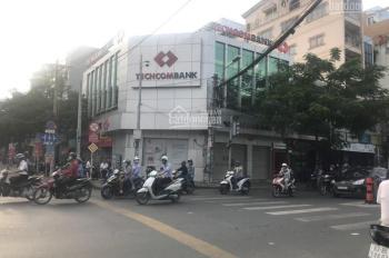 Cho thuê góc 2 MT Nguyễn Tất Thành với Hoàng Diệu, P12, Q4. DT 220m2, 1 trệt, 1 lầu, 0909444407