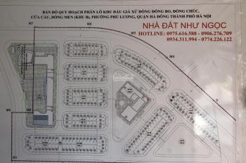Cần tiền bán gấp lô góc nhìn trường học LK03 - 05 SĐCC giá 51tr/m2 KĐG Đồng Bo-Phú Lương 0975616588