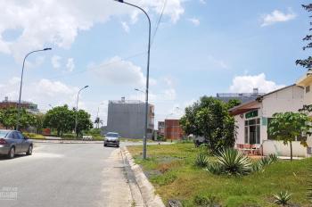 Cần tiền bán gấp nền đất lô góc 2 mặt tiền Ecotown 123m2, giá 2.3 tỷ, Hóc Môn, CĐT Phúc Khang