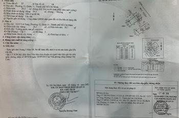 Bán nhà gác gỗ 12/37 Lê Tung, P. 13, Q. 11