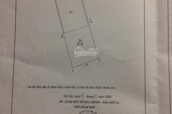 Cần bán nhà riêng 50m2 - SĐCC  đường Vũ Trọng Phụng - Thanh Xuân