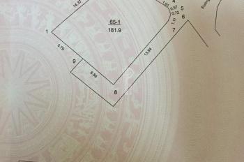 Bán 61m2 đất thổ cư 100% Bảo Tháp, Kim Hoa, ra đường đôi 50m