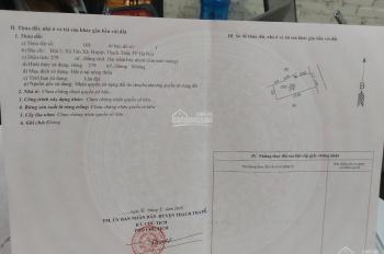 Điểm nóng thôn 3 Tân Xã, mặt tiền 10 mét giá đầu tư, diện tích 279m2, đất ở tất 0983100636