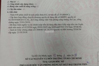 Chính chủ bán đất 2 mặt tiền đường Trần Đại Nghĩa, Tân Kiên, Bình Chánh LH: 0903 792 499)