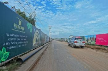 Cần tiền bán gấp nền 65m2, lô góc công viên, giá 630 triệu, gần chợ dự án Làng Sen Việt Nam