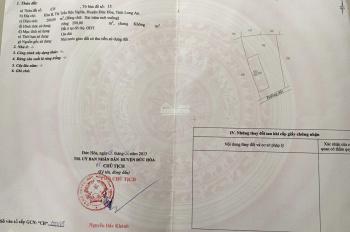 Chính chủ bán gấp 899m2 đất ngay ủy ban huyện Đức Hòa đường bê tông xe tải, sát BV Xuyên Á đang xây