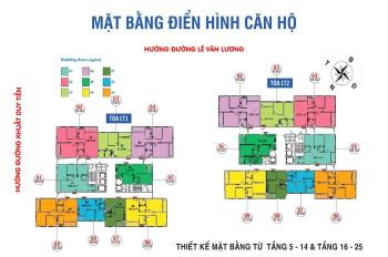 Chính chủ bán cắt lỗ Ban cơ yếu Chính phủ, T1603 - CT1, DT: 81,8m2, giá: 28 tr/m2. LH 0934485810