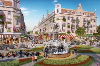 Shophouse trung tâm Bãi Cháy Hạ Long, mở bán căn 120m2 cạnh quảng trường Vip nhất DA chỉ từ 11 tỷ