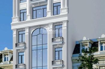 Bán nhà phố Nguyễn Khang xây mới 8 tầng, 1 hầm, mặt tiền 7,5m