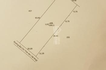 Bán đất mặt tiền Bùi Chí Tình, xã An Nhựt Tân, Tân Trụ, Long An