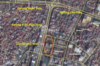 Bán nhà mặt phố Trần Thái Tông, Cầu Giấy - mặt tiền 8m, đã có sổ đỏ, kênh đầu tư, trữ tiền hiệu quả