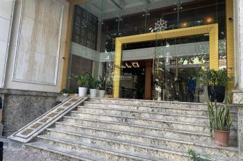 Cho thuê nhà mặt phố Bích Câu, Cát Linh 70m2 x 5 tầng, mặt tiền 5.5m, thang máy, giá thuê 85tr/th