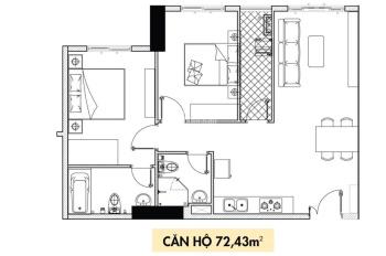 Chính chủ cần sang lại căn hộ 73m2 Phoenix 1 - căn vuông view công viên, nhận nhà cuối năm nay