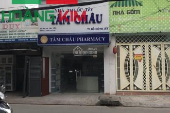 Nhà 2 lầu, MT Bùi Đình Túy, P24, Q. Bình Thạnh. DT: 3,5x15m