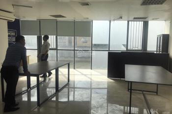 Cho thuê văn phòng khu vực Chùa Láng cạnh Vincom Nguyễn Chí Thanh, Đống Đa, DT 80m2, giá chỉ 22tr