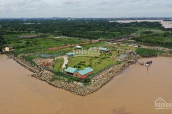 Bán 4.684m2 đất P. Long Phước, Q9, sát sông Đồng Nai, giá 10 triệu/m2, tặng kèm biệt thự gỗ