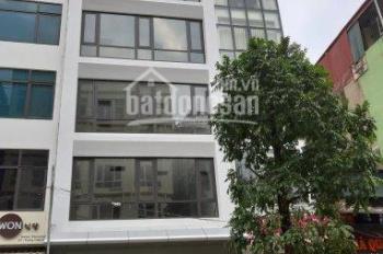 Cần cho thuê nhà phố Hàng Bún - Ba Đình, diện tích: 100m2 x 4 tầng, mặt tiền: 6m