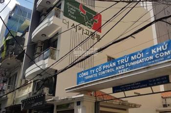Cho thuê nhà 2 mặt tiền Trần Quang Diệu, Q3. (4.5x25m), 5 tầng, 10 phòng full NT, trệt thuê 15tr