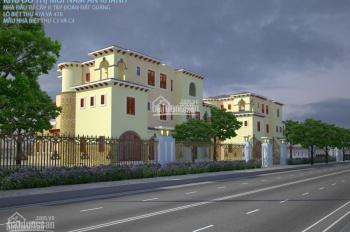Bán biệt thự đơn lập Nam An Khánh Sudico, TT132 lô 3 mặt đường đôi 30
