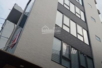 Cho thuê nhà ngõ Vạn Phúc, Ba Đình, 70m2*7 tầng, thông sàn thang máy, giá 32 triệu/th