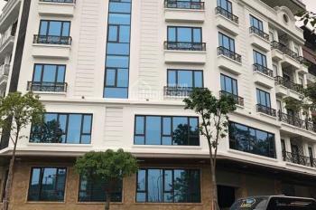 Cho thuê nhà Trần Quý Kiên, Cầu Giấy, HN, DT 250m2, 7,5 tầng, MT 15m, giá 240 triệu/th, 0919928661