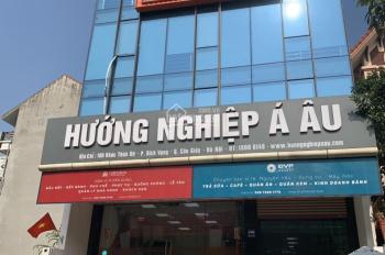 Cho thuê tòa nhà 8 tầng, mặt phố Trần Đăng Ninh - Cầu Giấy DT 180m2/sàn, giá thuê 250tr/ th