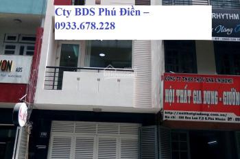 Cho thuê nhanh 96 Hoa Lan 64m2 xây 3 lầu lung linh thích hợp spa, VP, Cty... 43tr/th 0933.678.228
