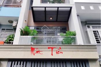 Nhà mới 100% HXT Phan Văn Trị 4x14m 1 trệt 3 lầu, ST, 4PN, 3WC giá chỉ 23tr/th