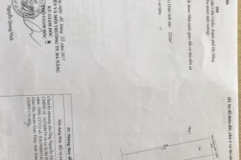 Cần bán nhà mặt tiền đường Âu Cơ Hoà Khánh Bắc - Liên Chiểu, đường 10,5m, 0963 666 558
