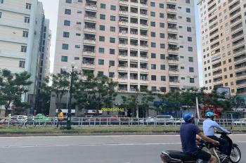 Cho thuê sàn tầng 1 lô góc mặt đường ở ngã tư Lê Văn Lương-Hoàng Đạo Thúy 140m2, MT 14m, 105tr/th