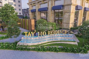 Tây Hồ Residence - Chỉ 2,7 tỷ sở hữu CH 2PN, 73.2m2, full nội thất, tầng cao view đẹp, CK tới 5%