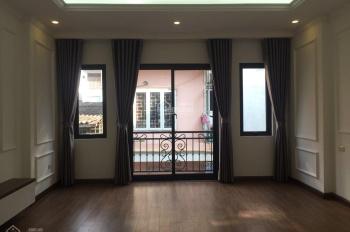Nhà 2 mặt thoáng 296 Minh Khai 45m2 * 5 tầng mới, 1 phút ra đường lớn, SĐCC