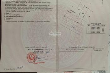 Cần bán miếng đất MT Tỉnh Lộ 8, Hòa Phú, Củ Chi, DT 10x34m, giá 22tr/m2 thổ cư lên hết