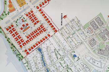 Bán lô 80m2 sổ đỏ CN xây dựng tự do gần cổng KDC đường Tam Đa Quận 9 giá 2,75 tỷ LH: 0909.797.786