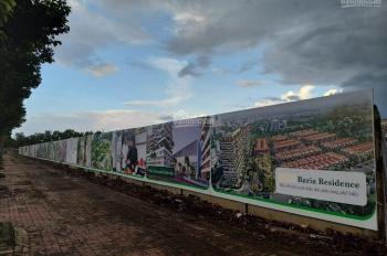 Baria Residence, MT 42m chuẩn bị nhận nền, 15tr/m2, sổ đỏ riêng từng nền. LH: 090.67.76543