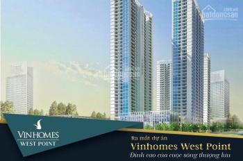 Bán chung cư cao cấp tại dự án Vinhomes West Point - Phạm Hùng