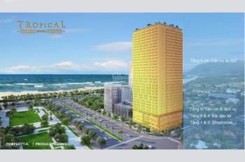 Thanh toán 20% sở hữu ngay căn hộ mặt tiền biển TP Quy Nhơn, giá chỉ từ 33 triệu/m2. LH 0901386993